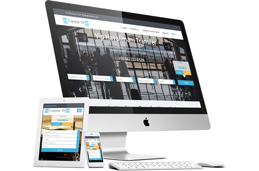 havalimanı transfer sitesi yazılımı